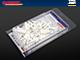 GARDINIA Görgő csipesszel, GE-GK műanyag mennyezeti sínhez (20 db)