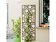 Nortene Dekorációs fém panel, leszúrható vagy falra szerelhető (150x60 cm) kör minta