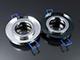 Lumines - Olcsó üveg spot lámpatest (1085OSZK), kör, fix, fekete