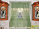 GARDINIA Lapos vitrázs pálca - fehér - 100-180 cm (2 db)