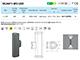 Elmark Oldalfali LED lámpa (OL9611-W2) 2x3W - természetes fehér