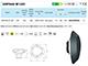 Elmark Oldalfali LED lámpa (968LEDW60) 6W - természetes fehér