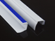 GARDINIA - Oldalvezető sín EASYFIX rolókhoz (150 cm) fehér színű (2 db)
