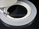 V-TAC CR80 LED panel (kör, oldalvilágítós) 6+2W - meleg fényű