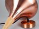V-TAC Oni-S csillár (E27), fém+fa, vörösréz, 260 mm