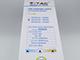 Kerti LED állólámpa, fekete (10W/450Lumen) 80 cm, meleg fehér