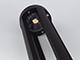 V-TAC Outdoor Series kültéri álló lámpa - 80 cm (10W) fekete, meleg f.