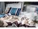 Naturtex Pamut szatén ágyneműhuzat - Amy modern, 3 részes szett, áthajtós