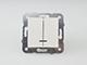 Panasonic Csillárkapcsoló, keret nélkül, jelzőfénnyel, fehér