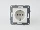 Panasonic - Aljzat 2P+F, keret nélküli, fehér