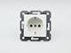 Panasonic Aljzat 2P+F, keret nélküli, fehér, csavaros rögzítésű