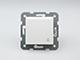 Panasonic Aljzat 2P+F, csapfedeles, keret nélküli, fehér, csavaros