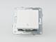 Panasonic Nyomókapcsoló lámpajellel, keret nélkül, fehér