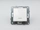 Panasonic Nyomókapcsoló jelzőfénnyel, keret nélkül, fehér