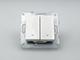 Panasonic Redőnyvezérlő kapcsoló, keret nélkül, fehér
