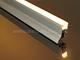 Alu-LED Aluminium profil eloxált (APT-20) világító parketta szegély opál