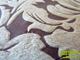 Függöny Center Díszpárna huzat 3D levél (45x45 cm) barna