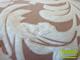 Függöny Center Díszpárna huzat 3D levél (45x45 cm) krém