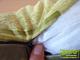 Díszpárna huzat - Retro 3D (45x45 cm) - Green (zöld)