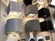 V-TAC Pegasi kültéri lámpatest, szürke, négyzet (6W BL) meleg feh.