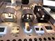 V-TAC Pegasi kültéri lámpatest, fehér, négyzet (6W) meleg fehér