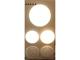 V-TAC Dome-RS Sensor IP20 LED lámpatest - fehér (12W) 6000K