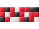 Műbőr falvédő-12 faldekoráció (200x75 cm)