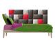 Kerma Design Műbőr falvédő-15 faldekoráció (200x75 cm)
