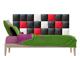 Kerma Design Műbőr falvédő-17 faldekoráció (200x75 cm)