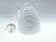 V-TAC Prism modern csillár (E27) fehér - kúp forma