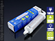 V-TAC LED lámpa R7s (10W/360°) hideg fehér Kifutó