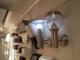 Rábalux Inox Torch kültéri oldalfali lámpa (E27) rozsdamen. acél ferde