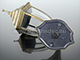 Rábalux Nizza kültéri oldalfali lámpa, álló (E27) antik arany