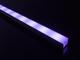LED Profiles Recessed-2 süllyeszthető alu profil eloxált, LED szalaghoz, opál burával