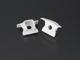LED Profiles Recesssed-2 alumínium LED profil véglezáró elem
