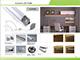 Alu-LED Aluminium profil eloxált (ALP-006) LED szalaghoz, félig átlátszó