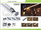 ANRO LED ALP-010 Aluminium profil vezetéksínnel ezüst, LED szalaghoz, opál burával