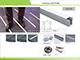 Alu-LED Aluminium profil eloxált (ALP-034) lépésálló, PC diffúz