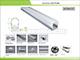 Alu-LED ALP-044PC Aluminium hűtőbordás U profil, LED szalaghoz, opál UV álló bura Kifutó!