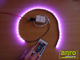 ANRO LED RGB vezérlő - Infravörös, 24 gombos (72W)