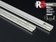 RS Alumínium RS profil eloxált (MINI-01-A) LED szalaghoz, opál