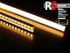 RS - MINI-01-A - Alumínium RS profil (felületre) LED szalaghoz, átlátszó burával