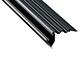 Lumines Scala - Lépcsővilágításhoz alu LED profil fekete - opál burával