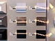 LED Labs Oldalfali dekor LED Secreto, mattkróm (12V/1.2W) meleg fehér