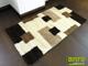 Függöny Center Shaggy szőnyeg 3 cm-es, (SG51) Krém-barna 200x280