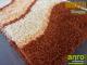 Függöny Center Shaggy Bantu szőnyeg 5 cm (273) natúr terra hullám 66x130 cm