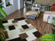 Shaggy szőnyeg 3 cm-es, (SG51) Krém-barna 200x280