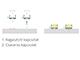 Lumines Sileda - Felületre építhető alu U profil, ellenálló PMMA opál burával