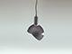 V-TAC Slide Black alumínium függeszték, E14, fekete