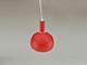 V-TAC csillár 3924 (E14 foglalat) - piros burával